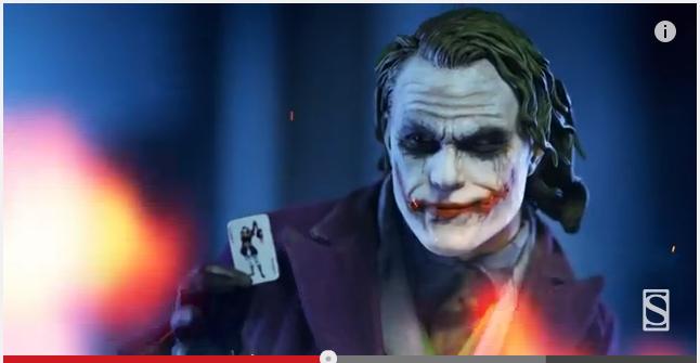 Sideshow The Dark Knight Joker Premium Format Figure Video Preview