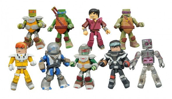 Diamond Select Toys New Releases – Batgirl, Robin, Superman & TMNT