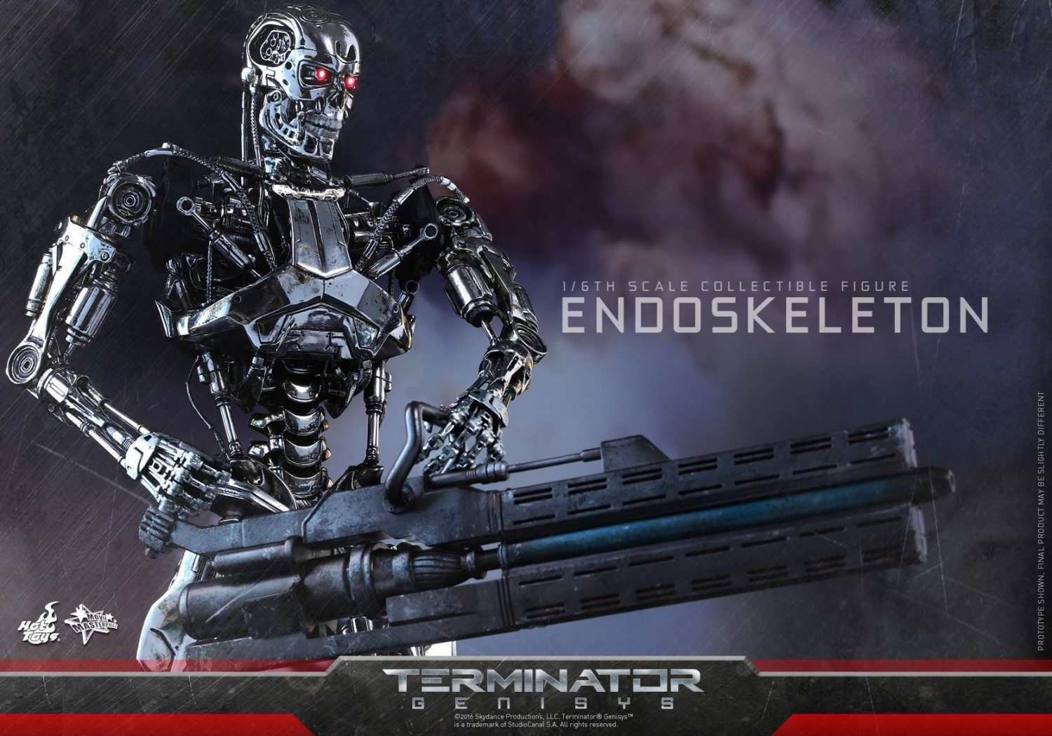 Hot Toys Terminator: Genisys T-800 Endoskeleton Sixth Scale Figure Pre-Orders