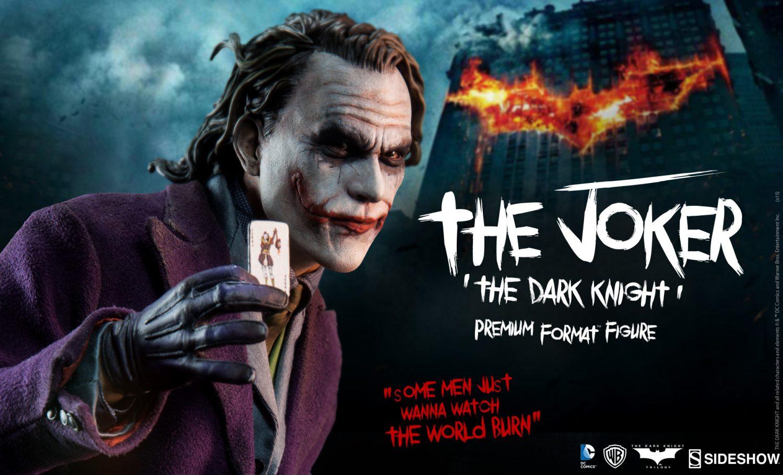 Sideshow Previews The Joker 'The Dark Knight' Premium Format Figure