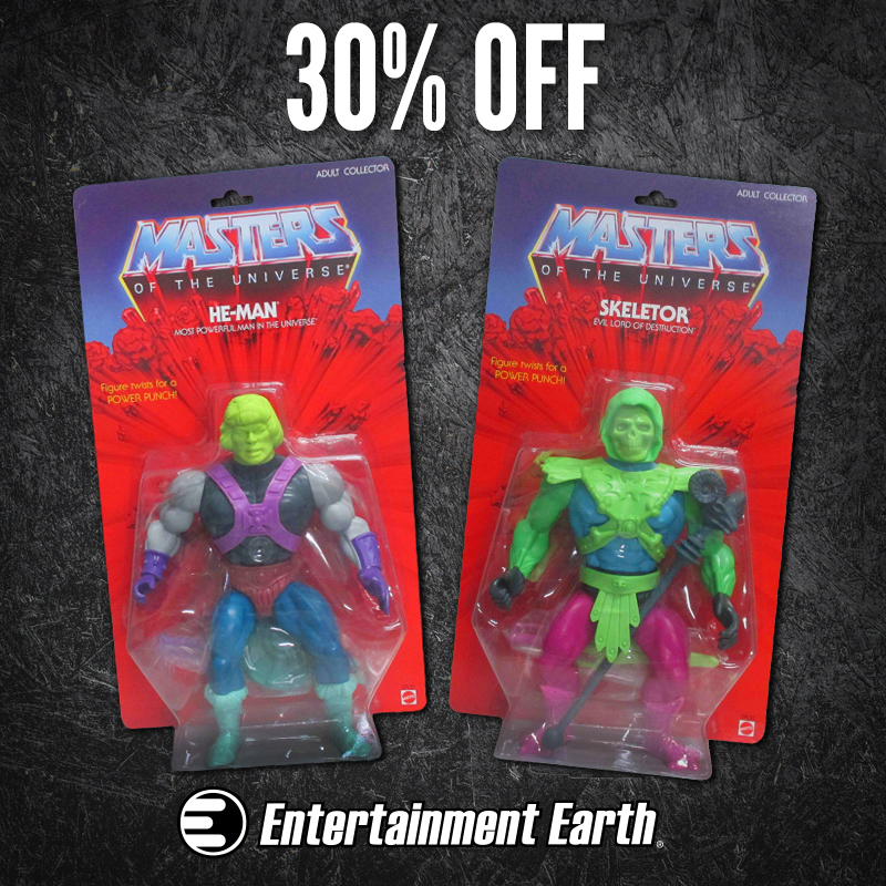 Masters Of The Universe 12-inch Figure Test Shots SDCC Exclusives Are 30% Off Today At Entertainment Earth