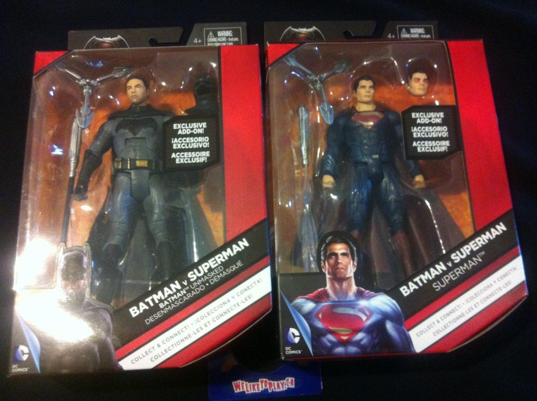 Mattel Batman v Superman Unmasked Batman & Heat Vision Superman 6″ Figures Listed On eBay