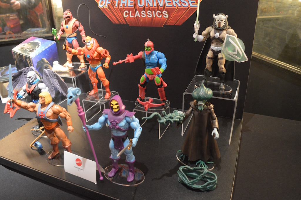 NYTF 2016 – Mattycollector: Masters Of The Universe Classics, ThunderCats & More Reveals