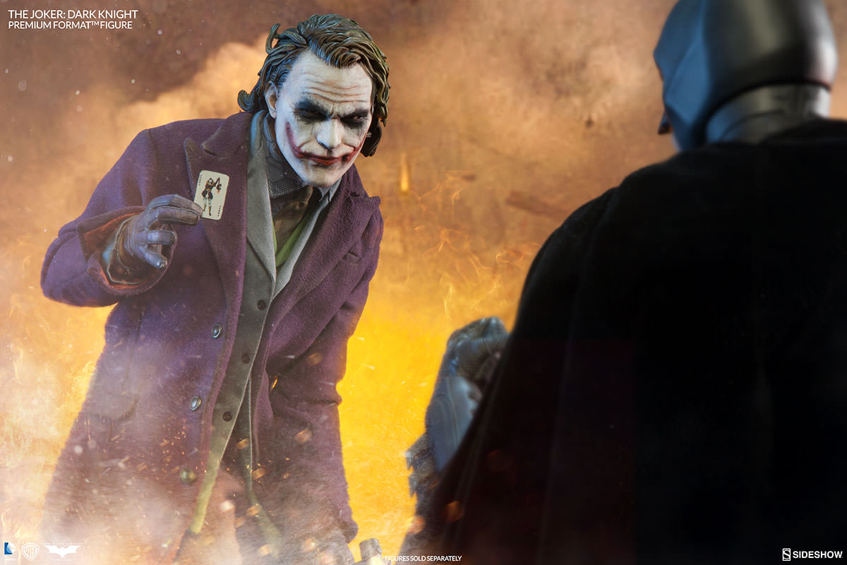 Sideshow The Dark Knight Joker Premium Format Figure Pre-Orders