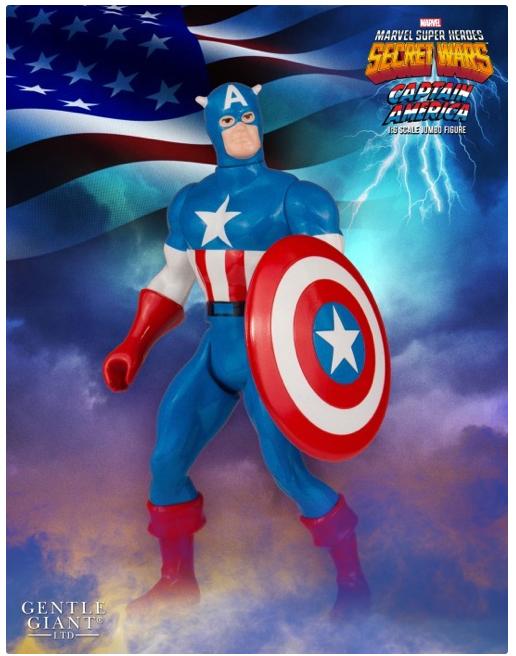 Gentle Giant Captain America Secret Wars Jumbo Figure