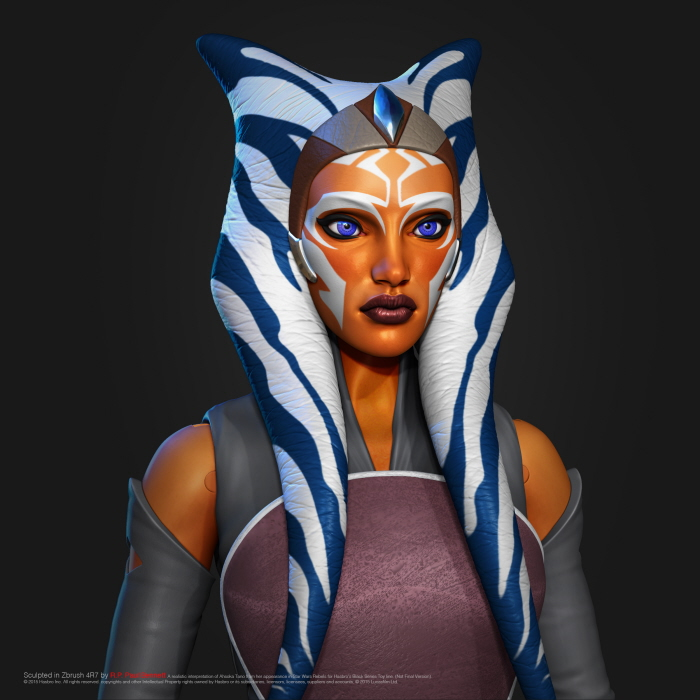 Hasbro Star Wars The Black Series 6″ Ahsoka Tano Designer Discusses His Creation