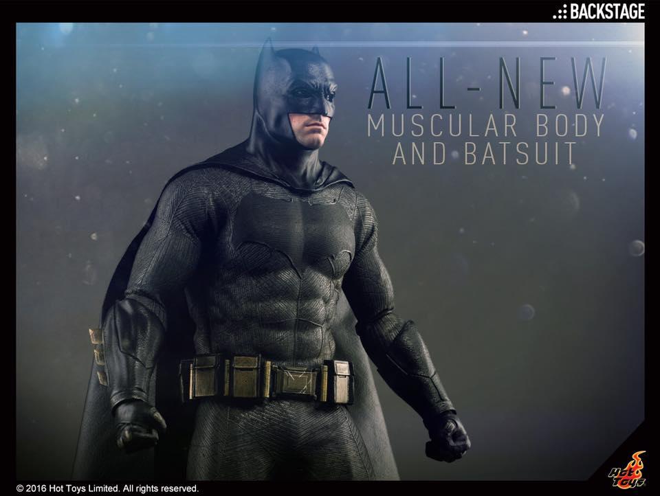 Hot Toys Batman v Superman – Batman Sixth Scale Figure Update