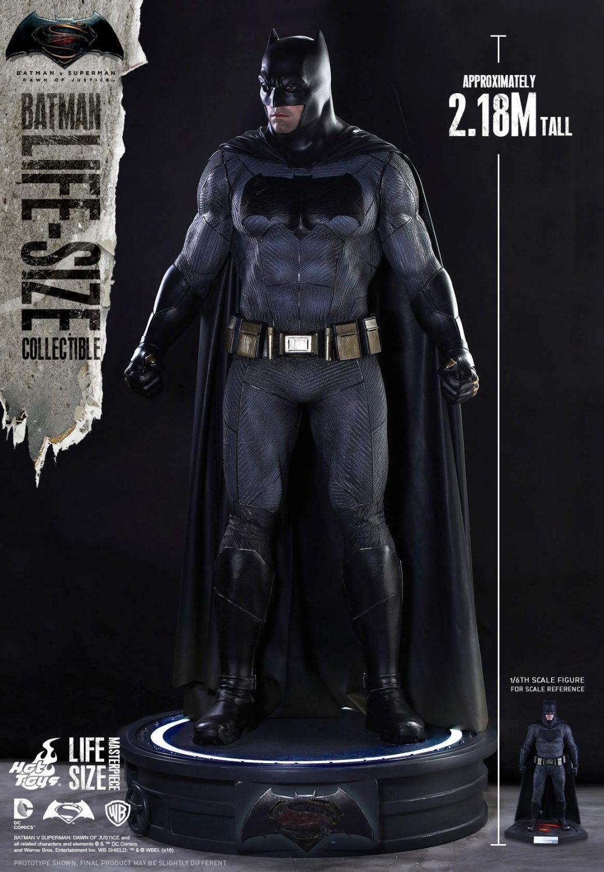 Hot Toys Batman v Superman Life-Size Figure Pre-Order