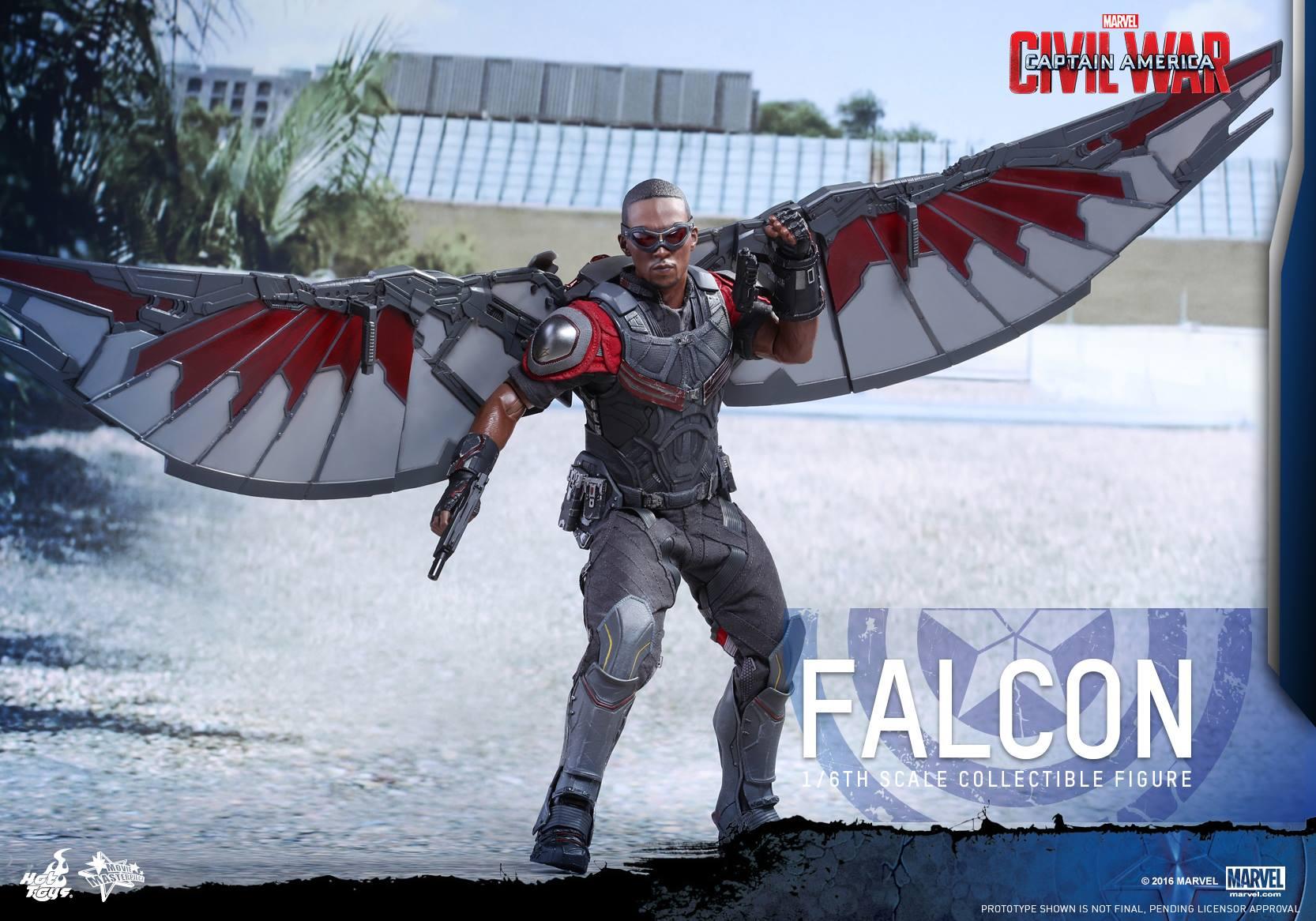 Hot Toys Captain America: Civil War Falcon Sixth Scale Figure