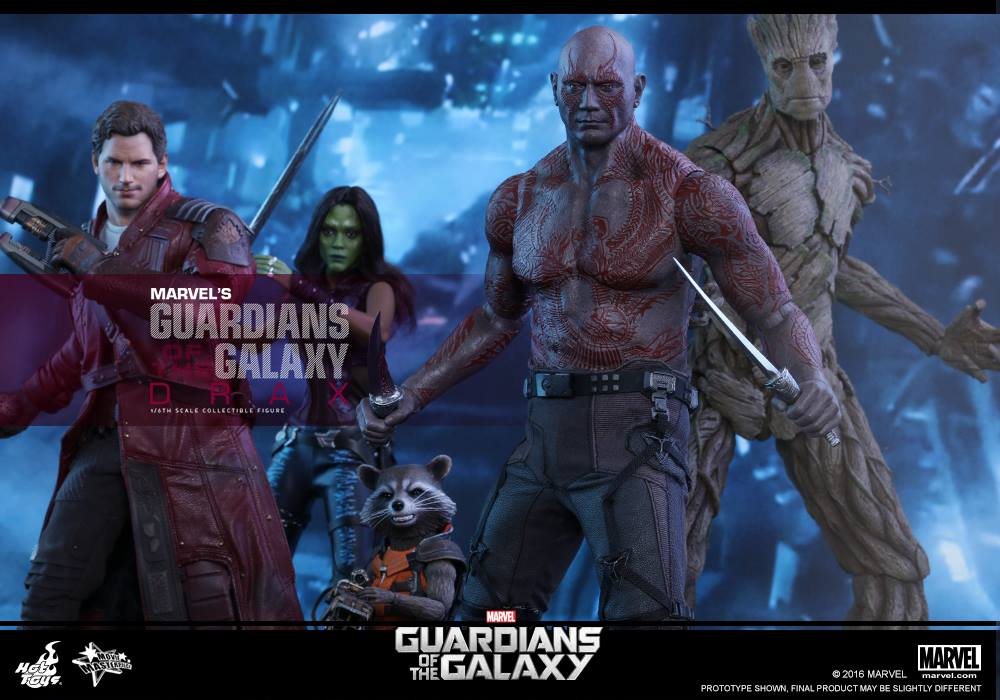 Hot Toys Guardians Of The Galaxy Drax Sixth Scale Figure