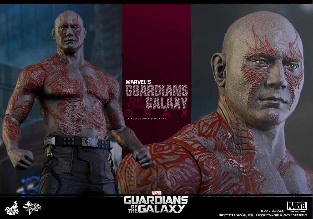 Hot Toys Guardians Of The Galaxy Drax Sixth Scale Figure Pre-Orders