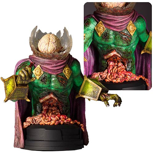 Gentle Giant Marvel Zombies Mysterio Mini-Bust Shipping Soon