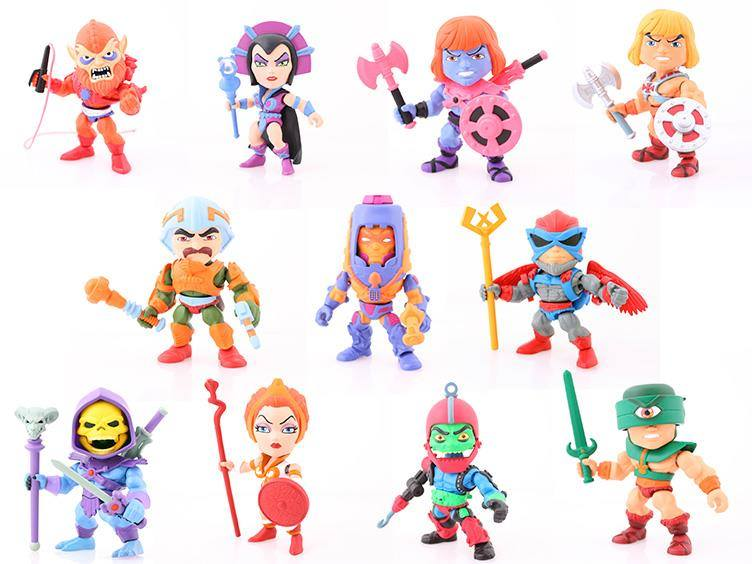 The Loyal Subjects Masters Of The Universe 3″ Blind Box Figure Wave 1