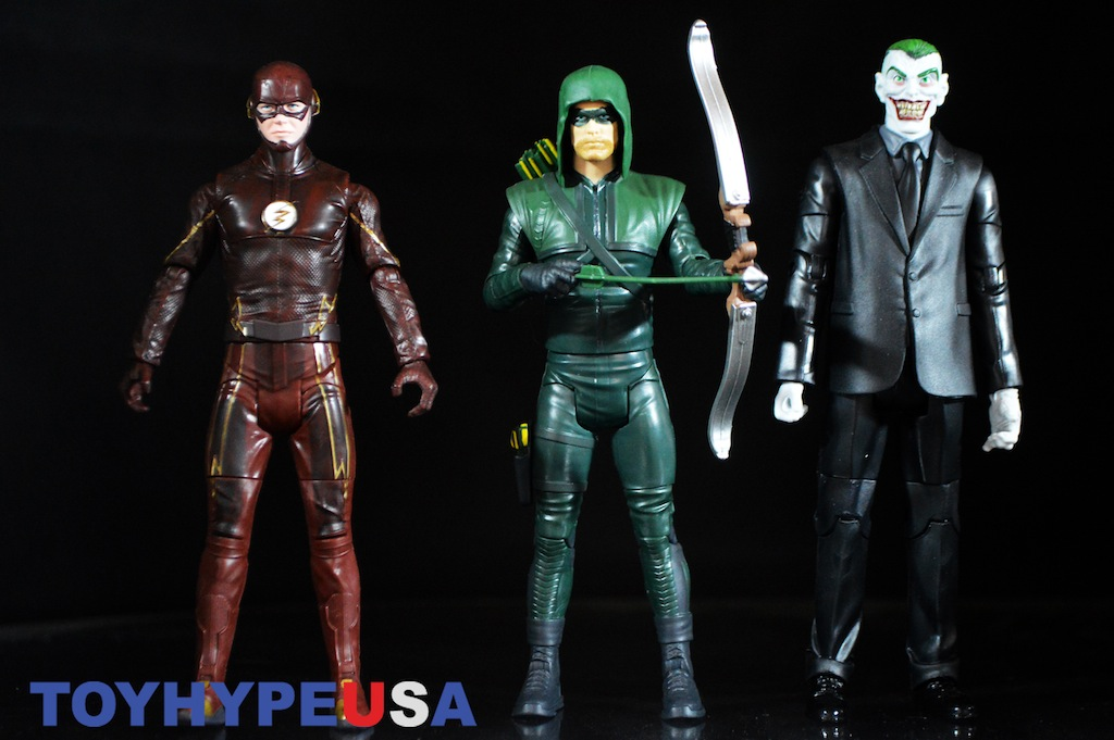 Mattel DC Comics Multiverse 6″ Wave 1 – Arrow, The Flash, & The Joker Review