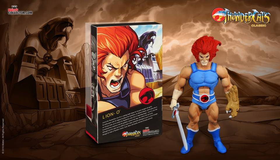 Mattycollector Reveals ThunderCats Classics 6″ Figure Packaging