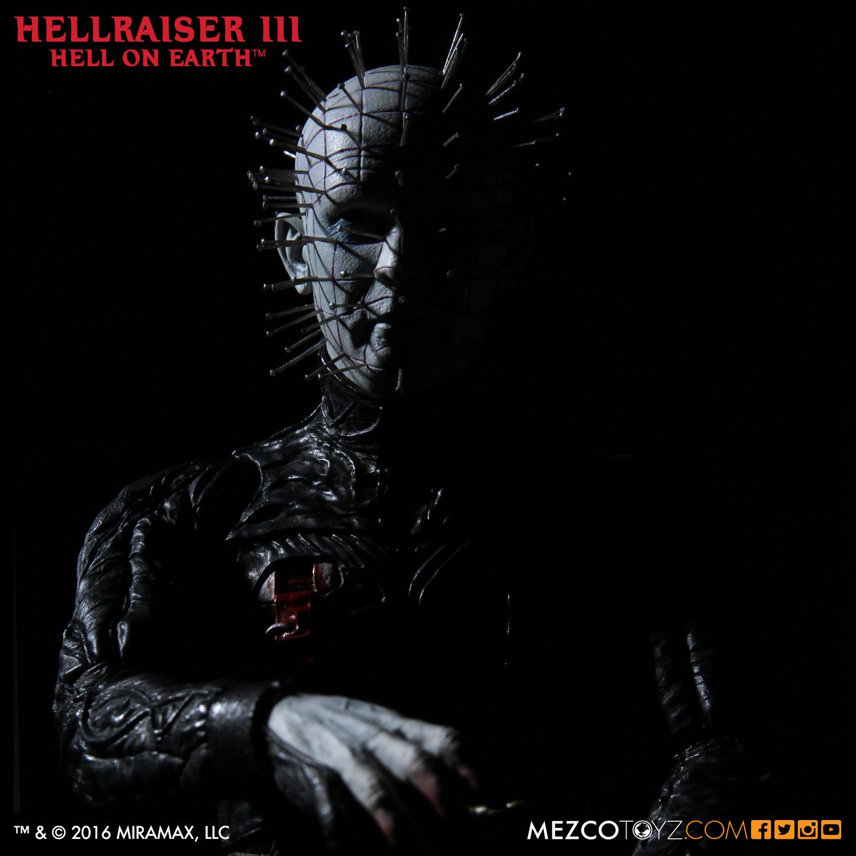 Mezco Toyz Closer-Look: Hellraiser III Hell On Earth 12″ Pinhead Figure