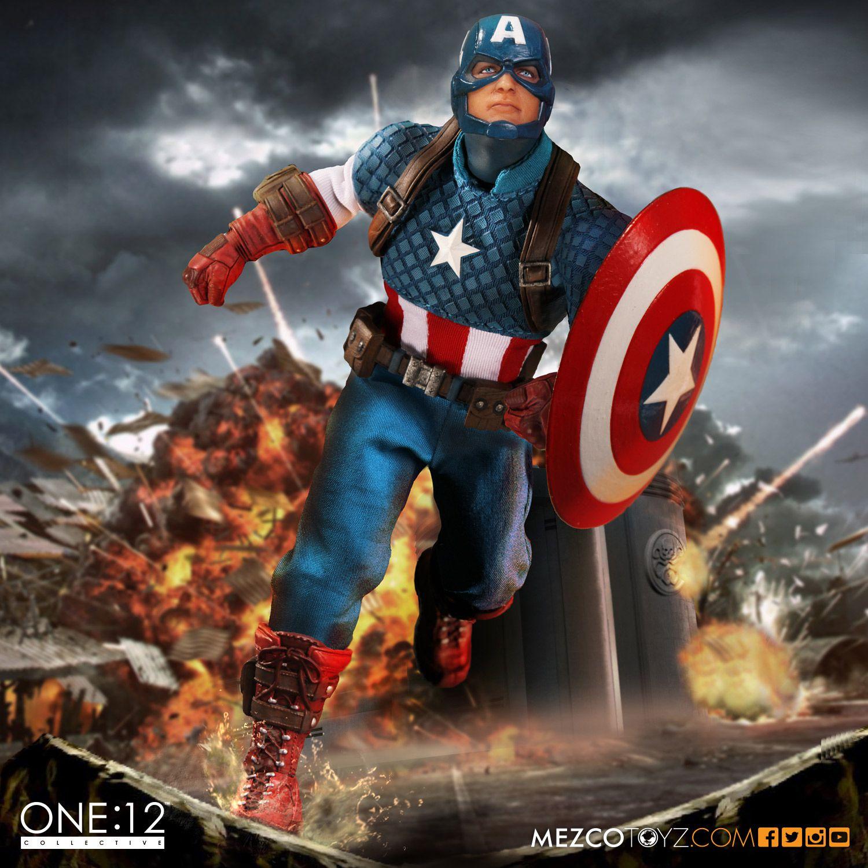 Mezco Toyz One:12 Collective Marvel – Captain America