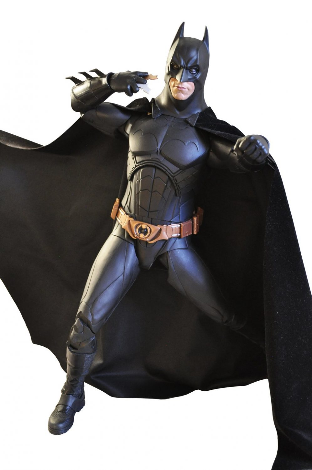 NECA Toys Releases New Image Of Upcoming Batman Begins 1/4″ Scale Figure
