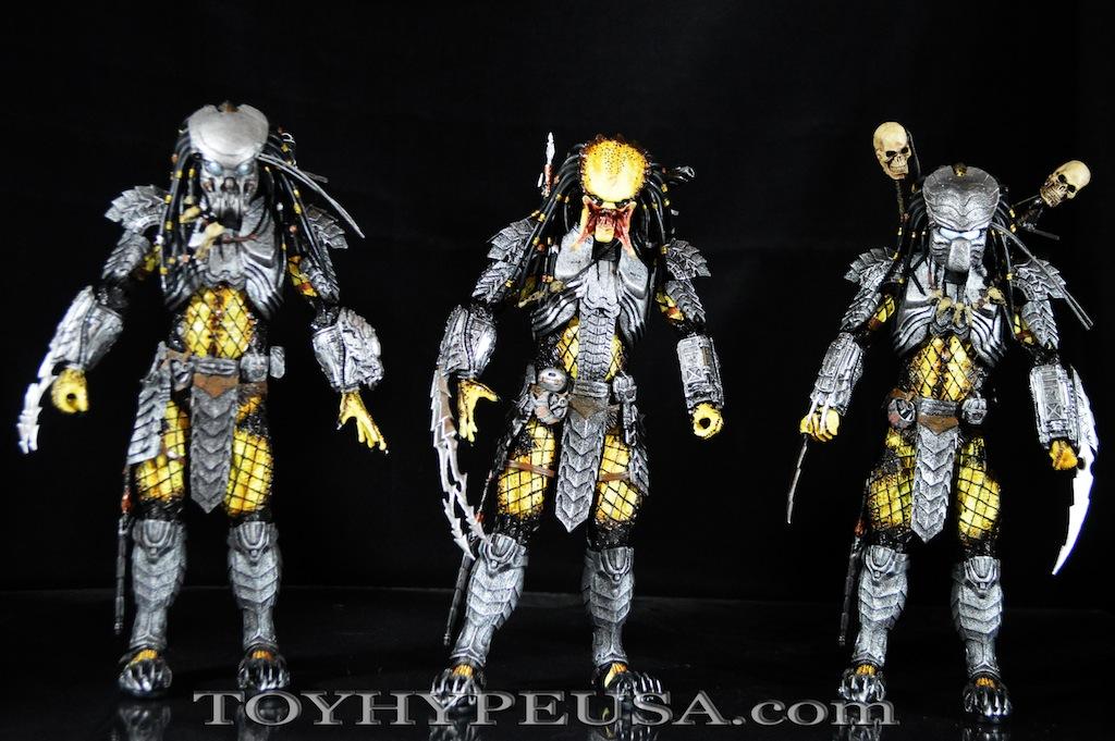 NECA Toys Predator Series 14 – Alien Vs. Predator Scar, Celtic, & Chopper Review