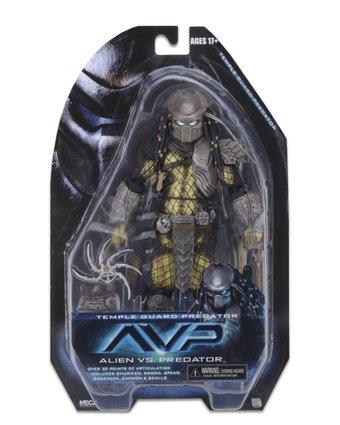 NECA Toys Predator Series 15 Temple Guard Predator Packaging Preview