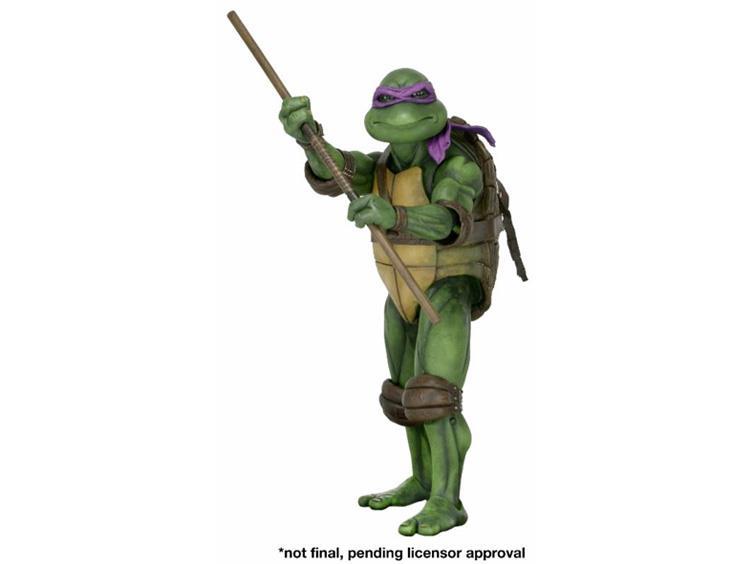NECA Toys Teenage Mutant Ninja Turtles 1990 Movie 1/4″ Scale Donatello Figure