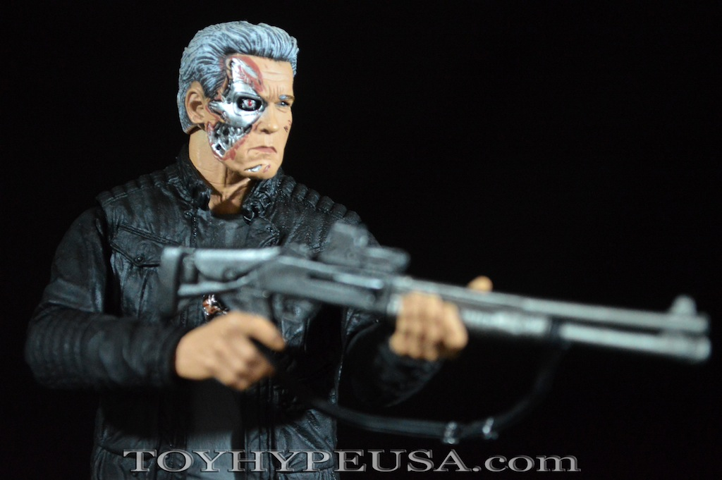 NECA Toys Terminator Genisys Guardian T-800 Pops Review
