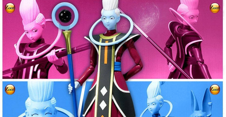 SH Figuarts Dragonball Z Whis Figure Update