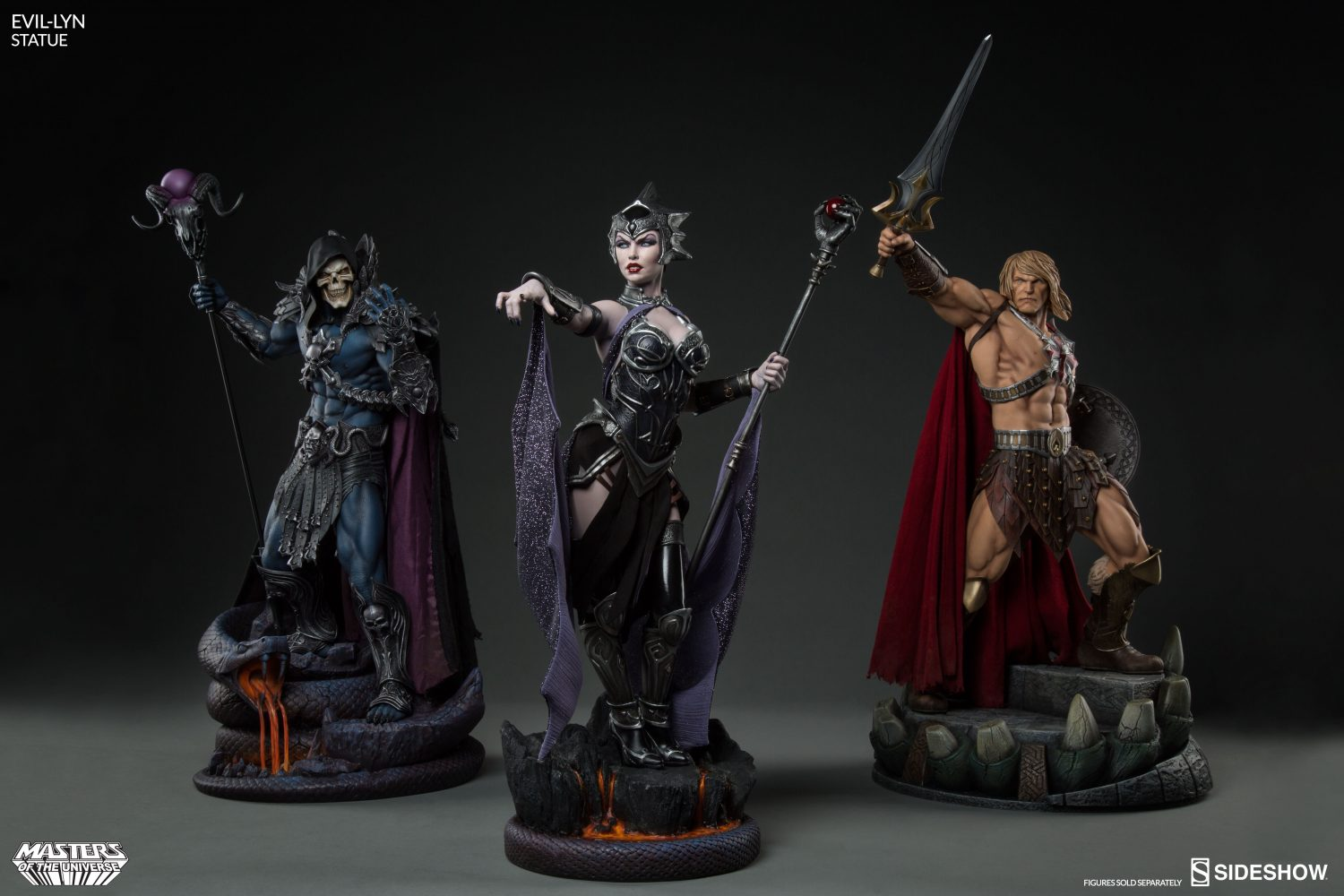 Sideshow Masters Of The Universe Evil Lyn Statue Pre-Orders
