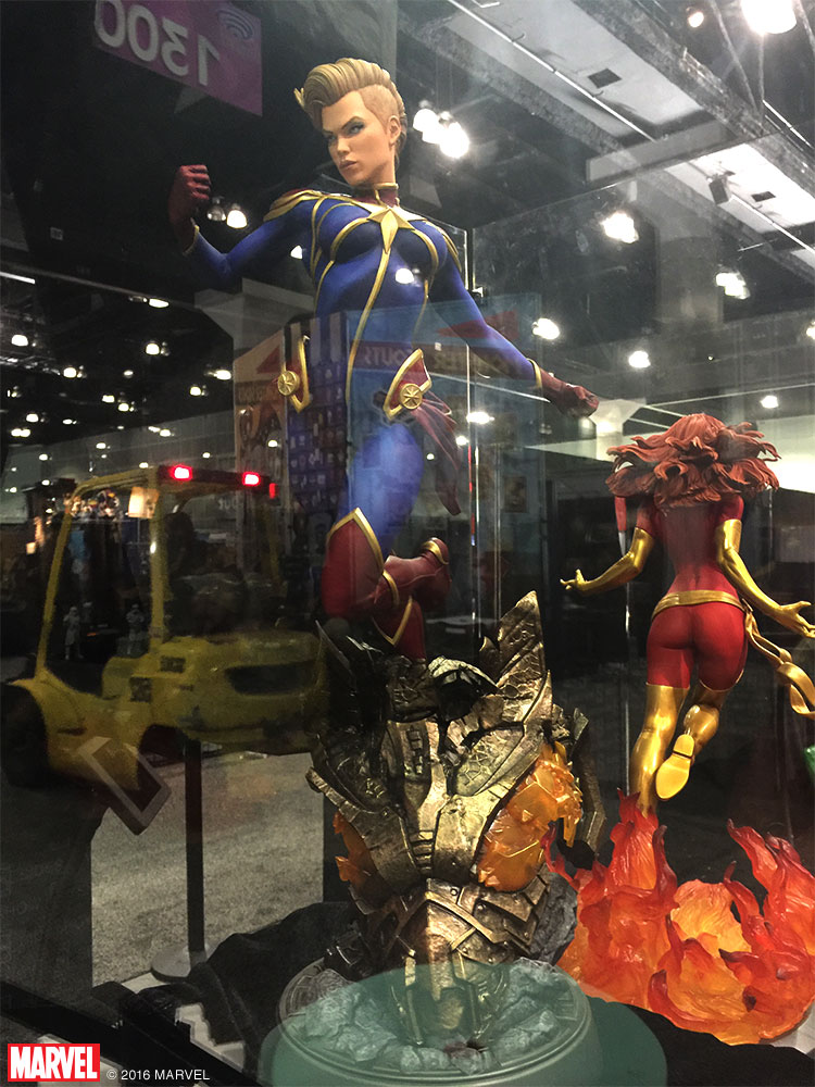 Sideshow Collectibles Showcases Booth At WonderCon 2016