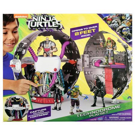 Teenage Mutant Ninja Turtle Movie 2 Technodrome Playset Pre-Orders Now Live At Wal-Mart