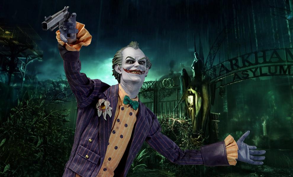 New Photos Of Sideshow The Joker Arkham Asylum Premium Format Figure