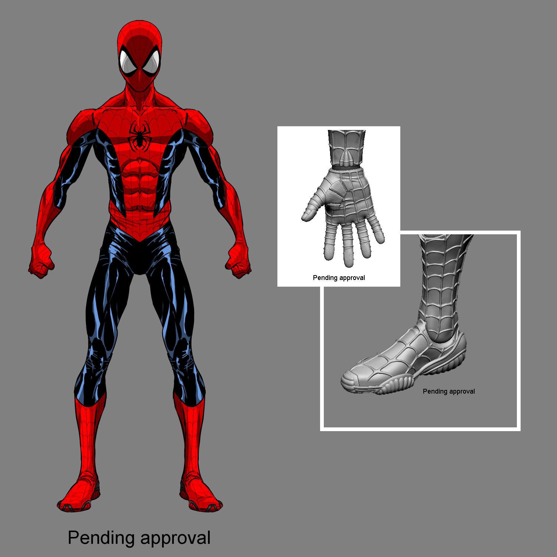 Mezco Teases One:12 Deadpool, Spider-Man, & Red Skull Figures