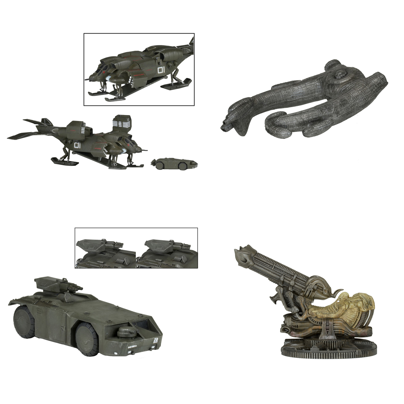 NECA Toys Cinemachines Die-Cast Collectibles Series 1 On Amazon & eBay Store
