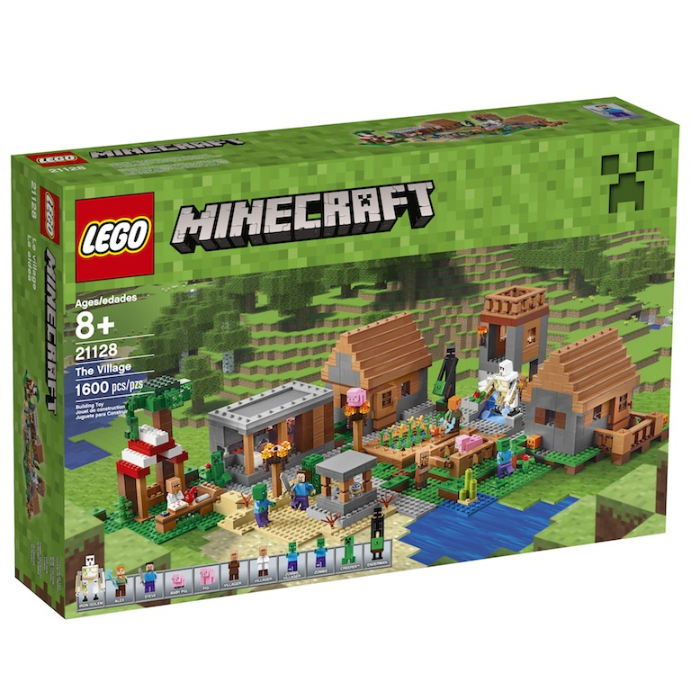 LEGO Minecraft Universe Expanding – The Village Official Press Release