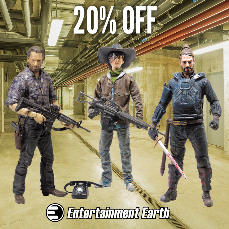 McFarlane Toys The Walking Dead 5″ Action Figures Are 20% Off Today On Entertainment Earth