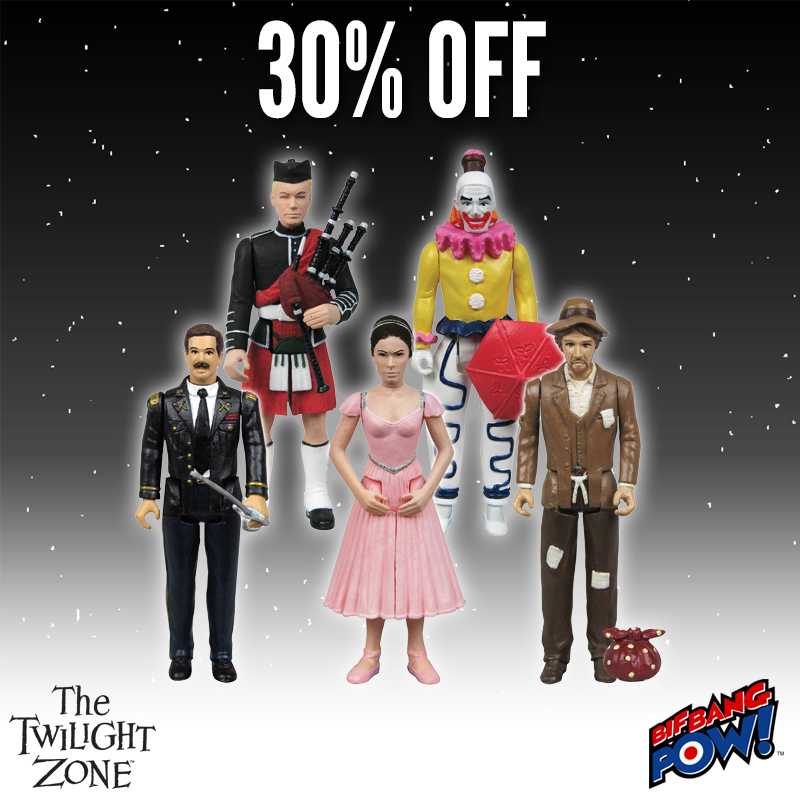 The Twilight Zone Collectibles Are 30% Off Today At Entertainment Earth