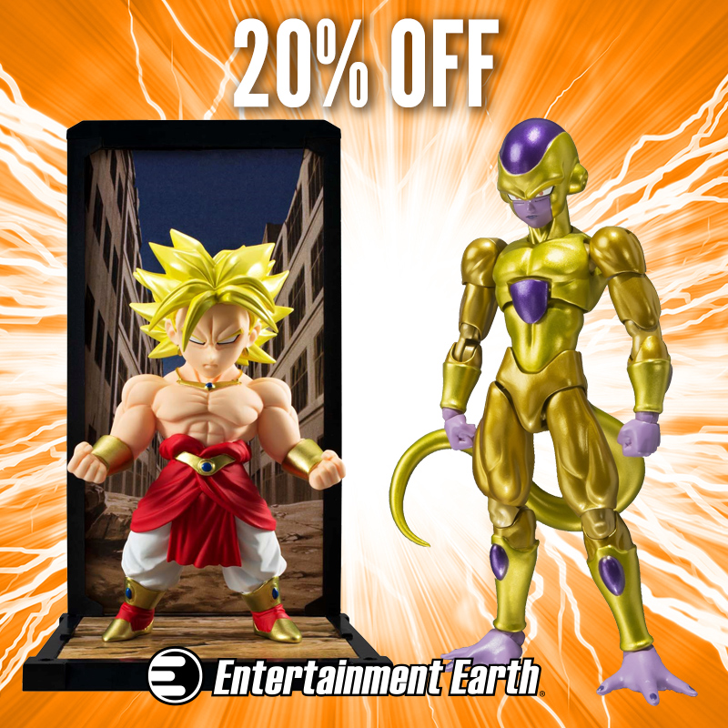 Dragonball Z Mini-Statues & Action Figures Are 20% Off Today At Entertainment Earth