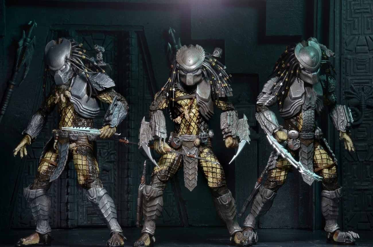 NECA Toys Shipping This Week: Predator Series 15 Figures