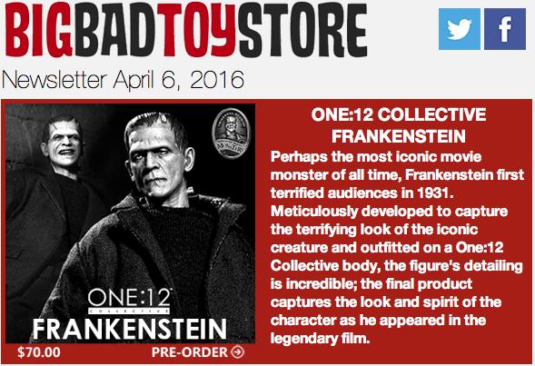 BBTS News: Frankenstein, Ant-Man, Aliens, Mega Man, DC, Godzilla, FFXV, Cthulhu & More