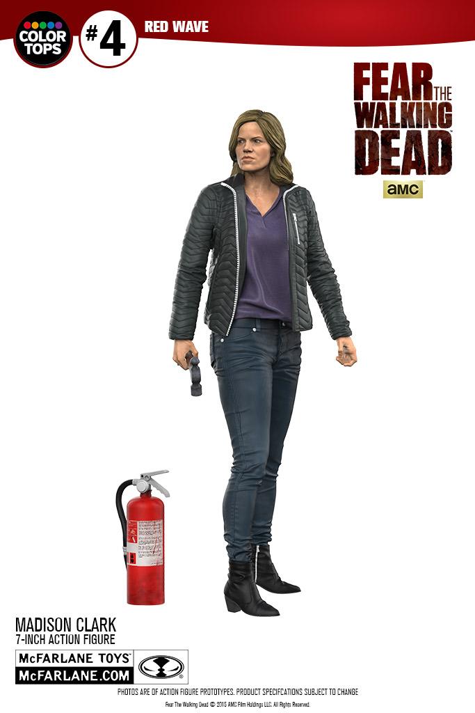 McFarlane Toys Previews Fear The Walking Dead Madison Clark 7″ Figure