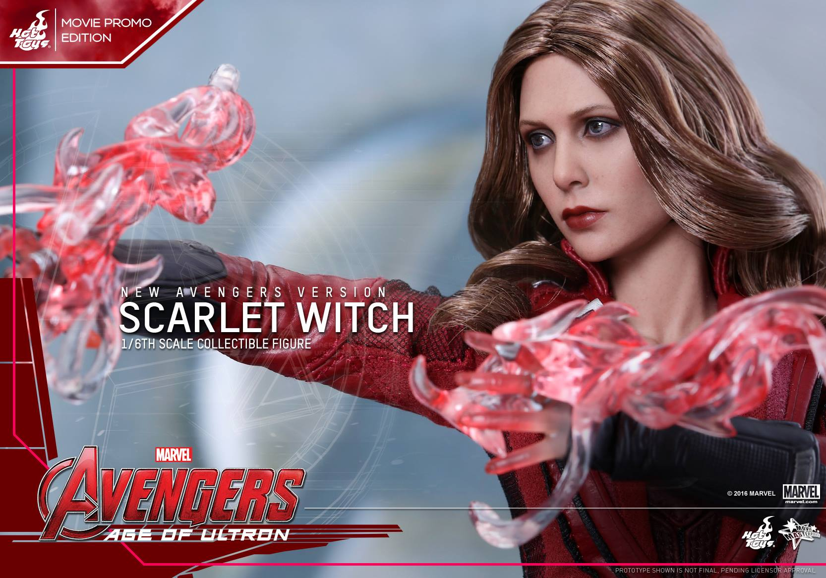 Hot Toys New Avengers Scarlet Witch Sixth Scale Figure