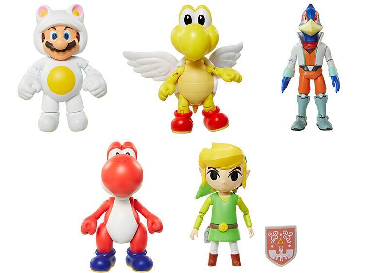 Jakks Pacific World Of Nintendo 4″ Figure Series 6