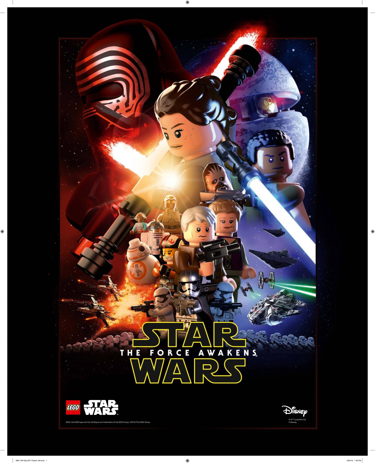 LEGO Celebrates May The 4th – Episode VII Poster & Promotion Starting Saturday