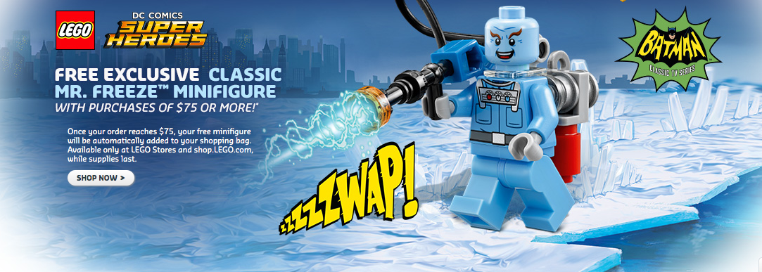 LEGO Shop Exclusive Batman 1966 Mr. Freeze Mini-Figure Available Now
