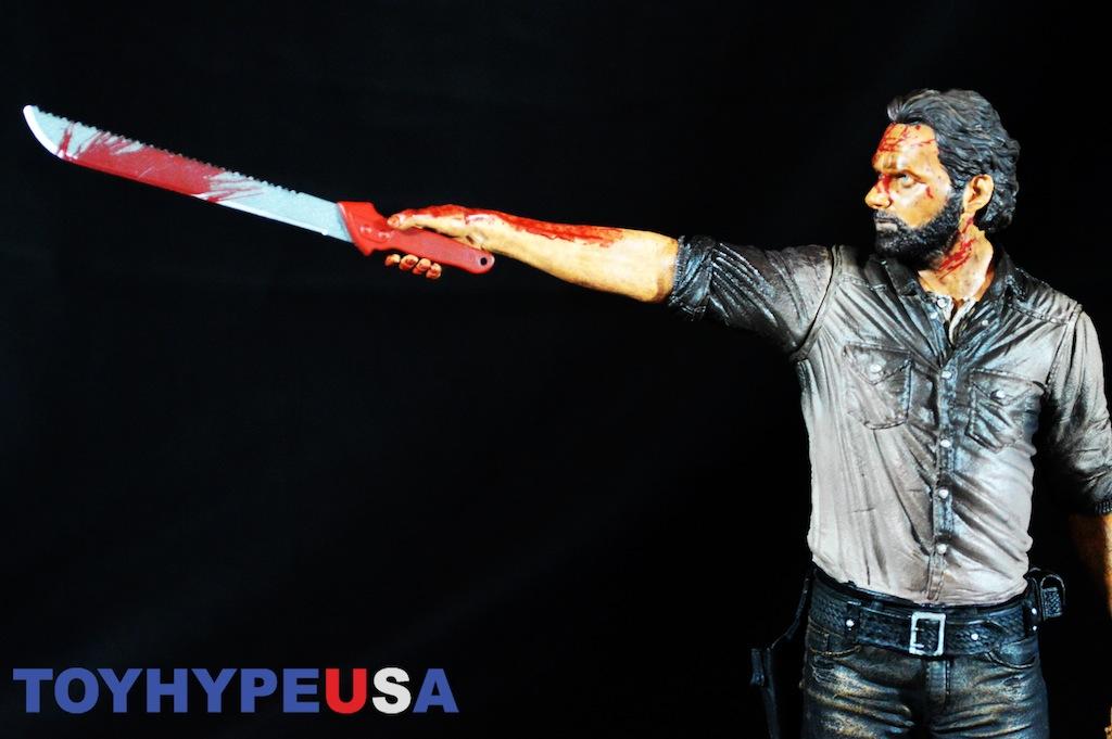 McFarlane Toys The Walking Dead TV 10″ Vigilante Rick Grimes Review
