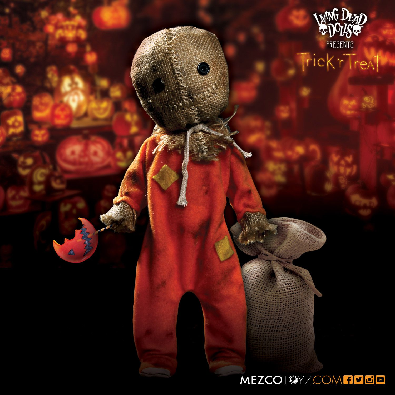 Mezco Toyz Living Dead Dolls Trick 'R' Treat Sam Doll