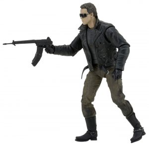 NECA Toys The Terminator Police Station Assault T-800 Ultimate Figure 2