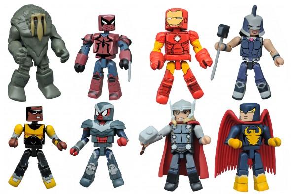 Marvel Animated Minimates Series 2.5 Revealed As Series 2 Hits Walgreens