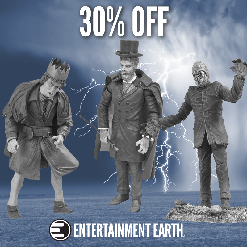 Universal Monsters Action Figures Are 30% Off Today At Entertainment Earth