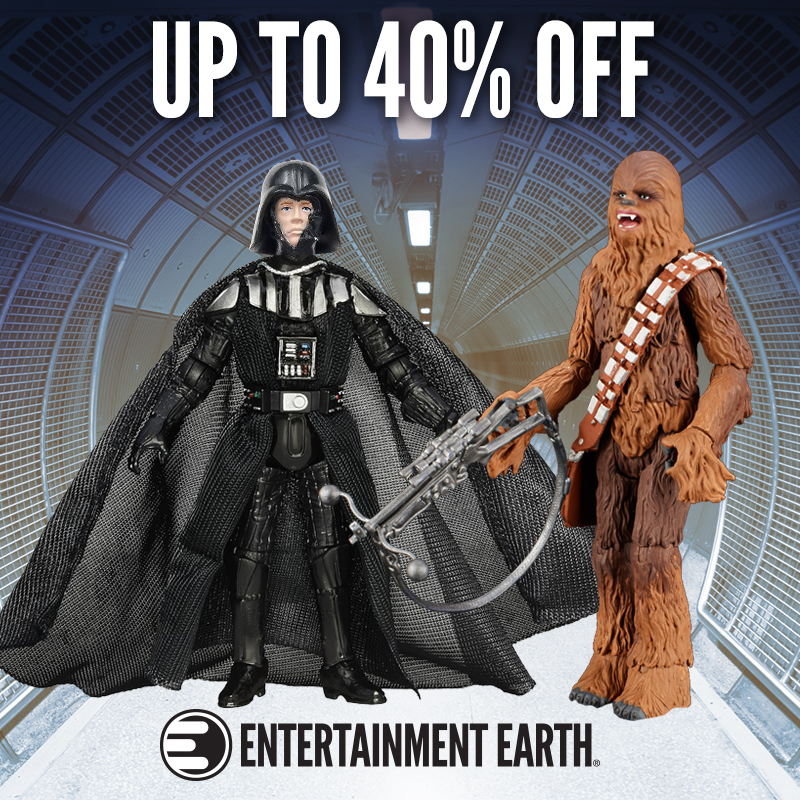 Entertainment Earth Launches Star Wars Day Sale – Up To 40% Off